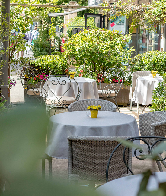 Hotel Rotonde - Jardin Terrasse