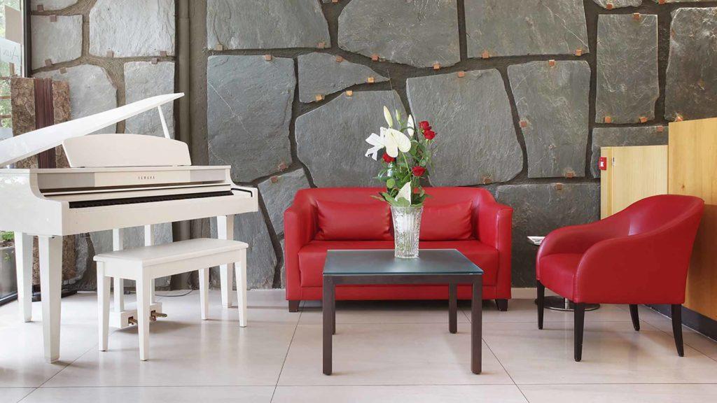 Hotel Rotonde - Fauteuils Piano